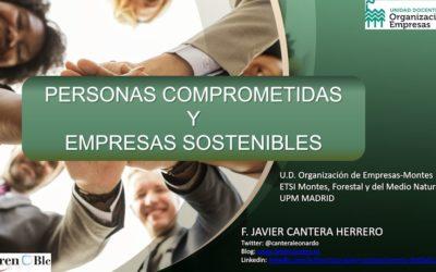PERSONAS COMPRETIDAS Y EMPRESAS SOSTENIBLES